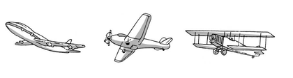 Les avions - illustration 1