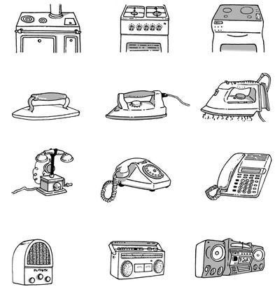 Quelques objets quotidiens au fil du temps - illustration 1
