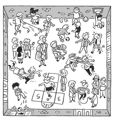 Les règles de sécurité à l'école (2) - illustration 1