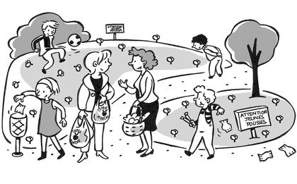 Les bons gestes pour protéger l'environnement - illustration 1