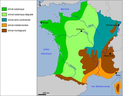Les climats en France - illustration 1
