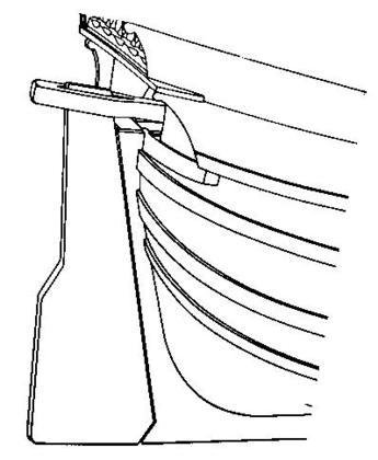 Un gouvernail d'étambot - illustration 1
