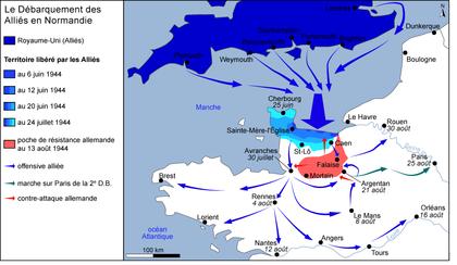 Le débarquement des Alliés en Normandie - illustration 1