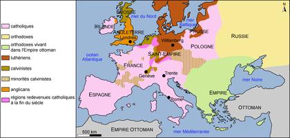 Les divisions religieuses au VIe siècle - illustration 1