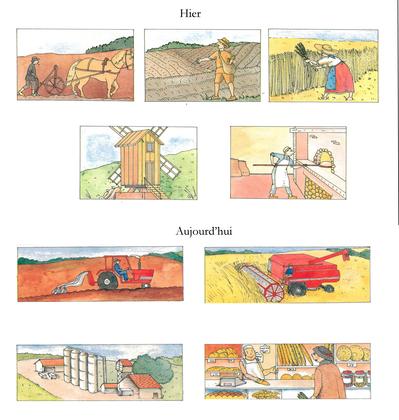 La fabrication du pain, d'hier à aujourd'hui - illustration 1