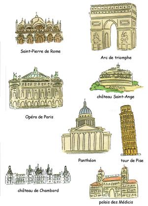 Quelques monuments européens (2) - illustration 1