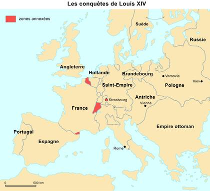 Les conquêtes de Louis XIV - illustration 1