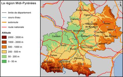 La région Midi-Pyrénées - illustration 1