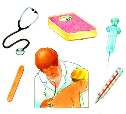 Les instruments du médecin - illustration 1
