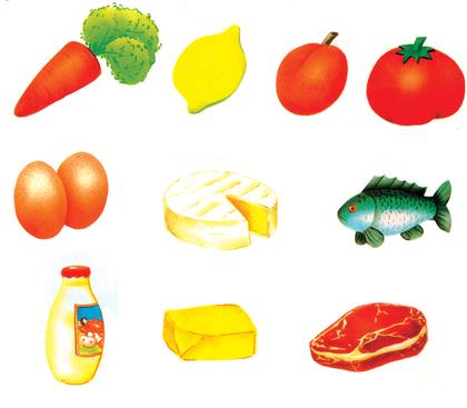 L'origine des aliments - illustration 1
