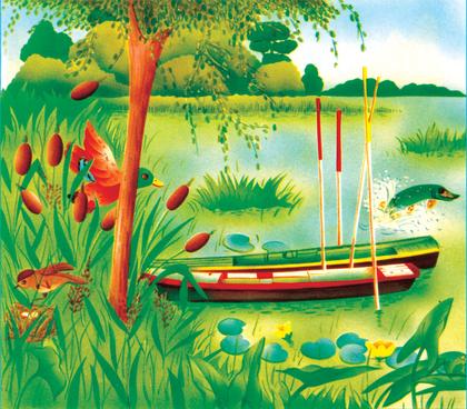 Un milieu de vie : la mare - illustration 1