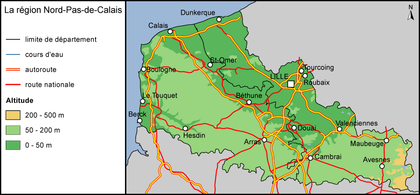 La région Nord-Pas-de-Calais - illustration 1