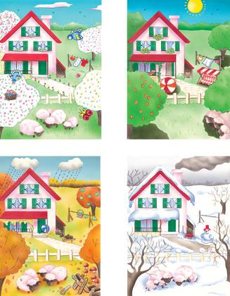 Le cycle des saisons (2) - illustration 1
