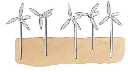 Les éoliennes - illustration 1