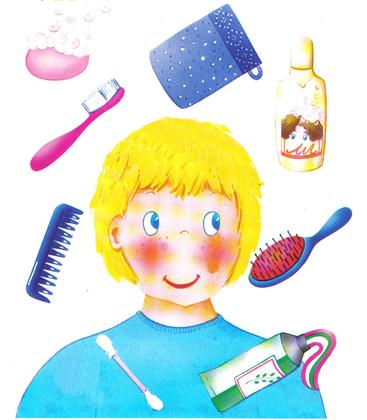 L'hygiène de la tête et du visage - illustration 1