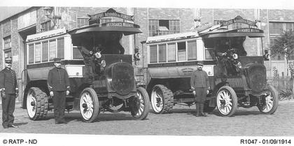 Les autobus réquisitionnés durant la guerre de 14-18 - illustration 1