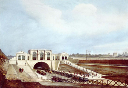 L'embarcadère parisien de la ligne de Saint-Germain-en-Laye - illustration 1