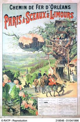 Affiche de la Compagnie du Paris-Orléans - illustration 1