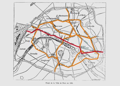 Le projet de chemin de fer métropolitain de la Ville de Paris - illustration 1