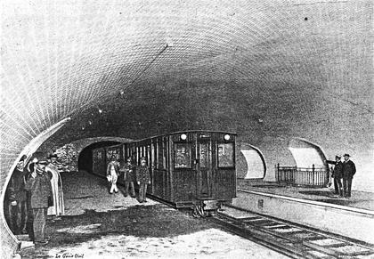 Les premiers jours de la ligne 1 du métro - illustration 1