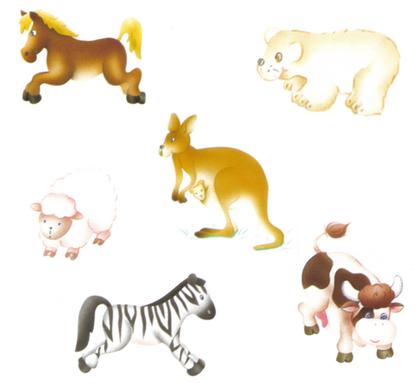Les animaux sur les différents continents - illustration 1
