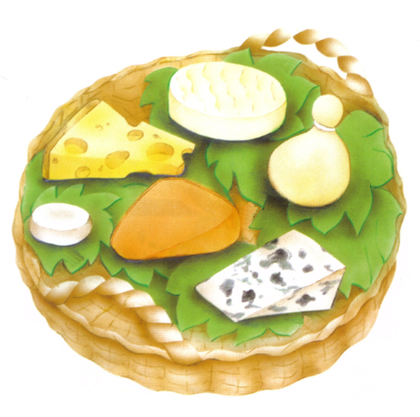 Les fromages - illustration 1