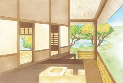 Une maison japonaise - illustration 1