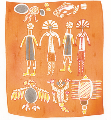 L'art des Aborigènes - illustration 1