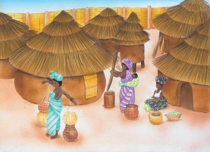 L'habitat africain - illustration 1