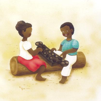 L'awalé, un jeu africain - illustration 1
