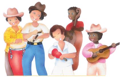 Un groupe de musique cubaine - illustration 1