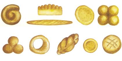 Les différentes sortes de pain - illustration 1