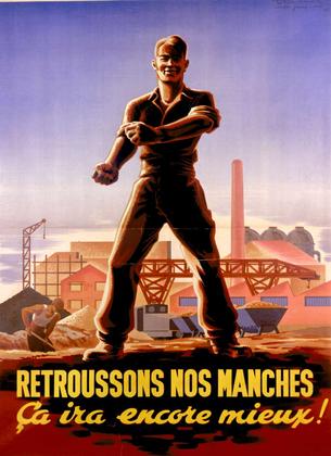 « Retroussons nos manches » (affiche) - illustration 1