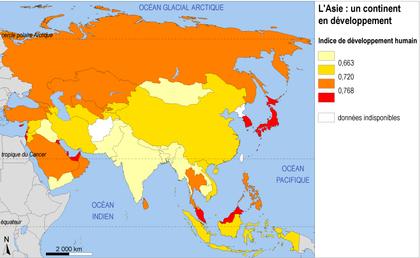 L'Asie : un continent en développement - illustration 1