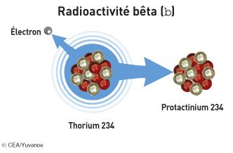 La radioactivité bêta moins - illustration 1