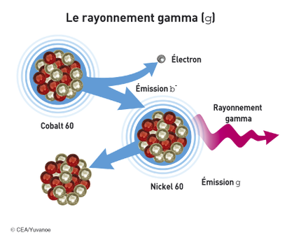 La radioactivité gamma - illustration 1