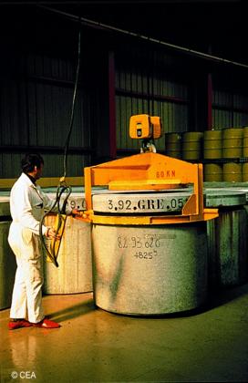 Conditionnement des déchets radioactifs - illustration 1