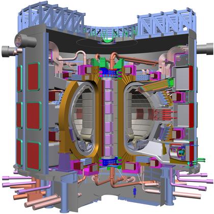 Le réacteur expérimental Iter