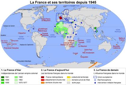 La France et ses territoires depuis 1945 - illustration 1