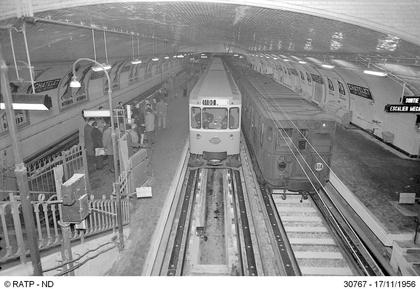 Mise en service d'une rame de métro sur pneus - illustration 1