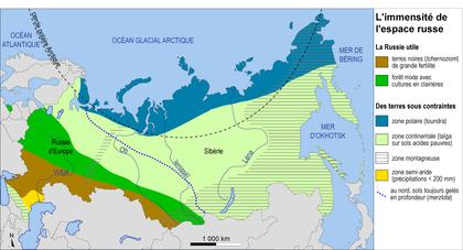 L'immensité de l'espace russe - illustration 1