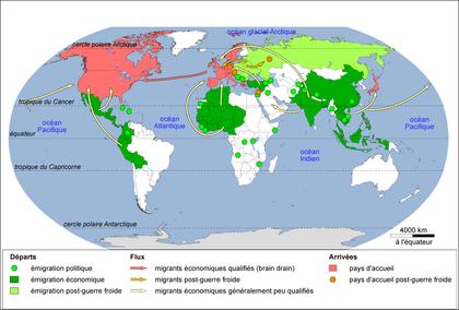 Les migrations internationales - illustration 1