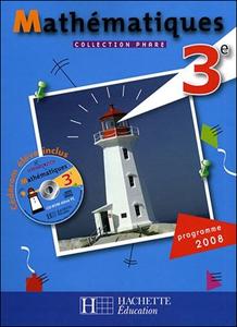 Hachette, Maths 3e, 2008