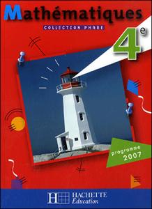 Hachette Éducation, Phare Math 4e, 2007