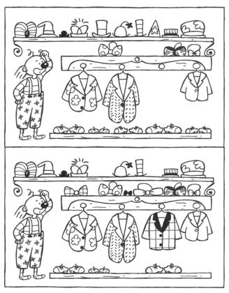 Le clown et ses vêtements
