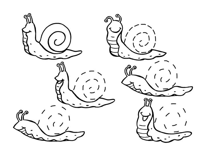 Image escargot ct un escargot souriant banque d 39 images - Escargot maternelle ...