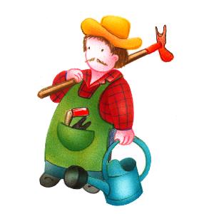 Banque d 39 images sur la vie quotidienne ressources pour for Le jardinier
