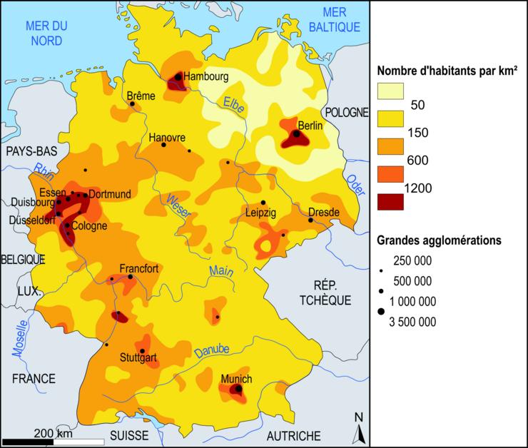 Classement Villes Allemagne Superficie