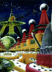 Sci-Fi: Future Atomic City (1942)