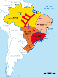 Les dynamiques territoriales du Brésil